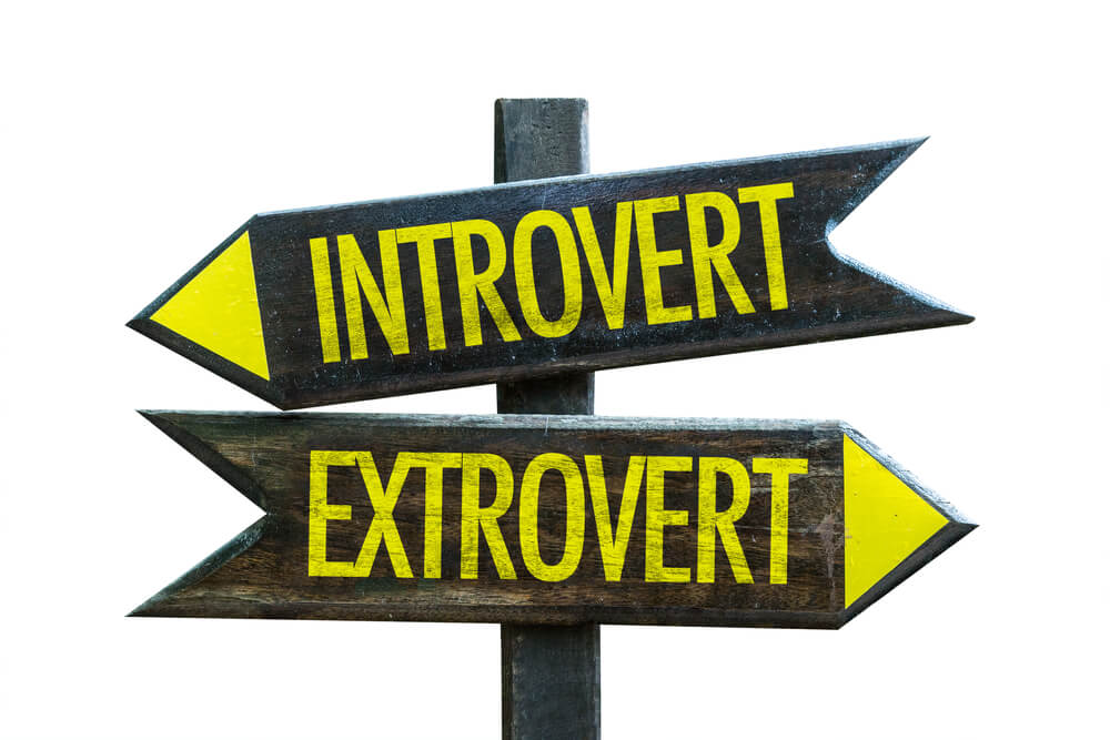 introvert vs extrovert sign